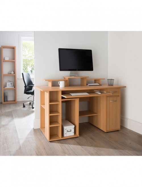 Home workstation bdwh107 121 office furniture - Home office furniture san diego ...